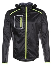 Craft Focus Sports Jacket Black Asphalt Flumino