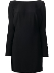 Jo No Fui Long Sleeve Dress Black