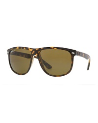Ray Ban Oversize Polarized Wayfarer Sunglasses