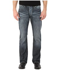 Buffalo David Bitton King Slim Bootcut Jeans Ventura In Distress Wash Distress Wash Men's Jeans Blue