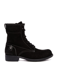 G Star G Star Voyage Harkness Ii Lace Up Ankle Boots Blackleather