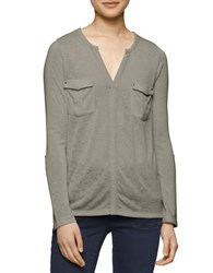Calvin Klein Jeans Solid Shirt With Cargo Pockets Mignonette