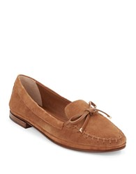 Vince Camuto Lamont Suede Loafers Light Brown