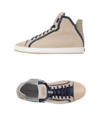 Guardiani Sport High Tops And Trainers Beige