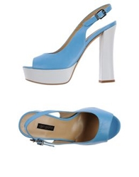 Del Gatto Sandals Sky Blue