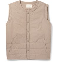 Folk Padded Shell Gilet Neutrals