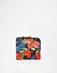 Mi Pac Coin Purse In Tropical Floral Print 017Tropicalfloral