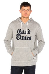 Altru X New York Times Good Times Hoodie Grey