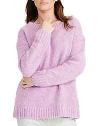 Lauren Ralph Lauren Crewneck Sweater Hyacinth Purple