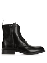 Jil Sander Lace Up Leather Boots