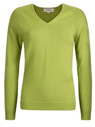 Calvin Klein Lambswool Sweater Lime