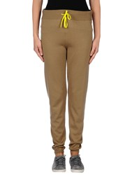 Scaglione Trousers Casual Trousers Women Khaki