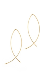 Jules Smith Designs Americana Classic Earrings Gold