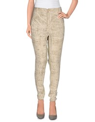 Superfine Trousers Casual Trousers Women Beige