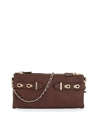 Elaine Turner Designs Elaine Turner Ashton Tumbled Leather Shoulder Bag Chocolate