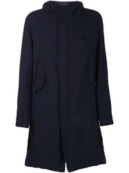 Undercover Mid Length Coat Blue