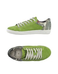 Springa Footwear Low Tops And Trainers Men Light Green