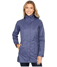 Columbia Splash A Little Rain Jacket Nocturnal Print Women's Coat