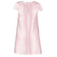 By Sun Pink Shoulder Pleated A Line Dress Pink Purple