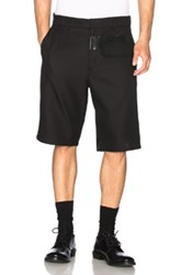 Jil Sander Graziano Patchwork Shorts In Black