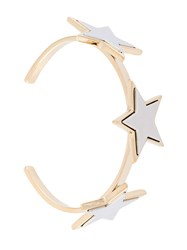 Givenchy Star Detail Bracelet Metallic
