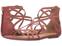 Chinese Laundry Penny Sunset Rose Micro Suede Women's Sandals Brown