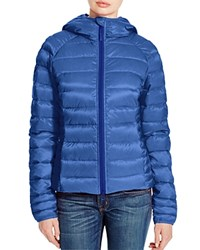 Canada Goose Brookvale Hooded Puffer Jacket Royal Blue