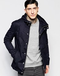 Minimum Padded Hooded Jacket Black