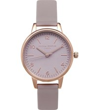 Olivia Burton Ob15mv37 Modern Vintage Rose Gold Plated Watch