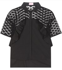 Giamba Cotton Blouse Black