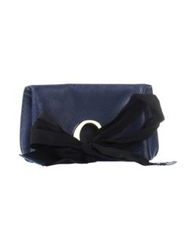 O Jour Handbags Dark Blue