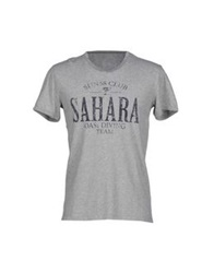 Sun 68 T Shirts Light Grey
