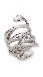 Aurelie Bidermann Mamba Ring Silver