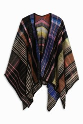 Missoni Women S Multi Zigzag Cape Boutique1