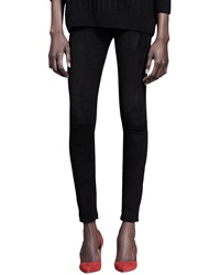 The Row Ankle Zip Combo Skinny Pants 4 36