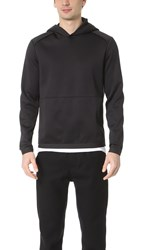 Theory Ormond Diving Pullover Hoodie Black