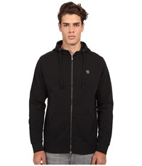 Matix Clothing Company Monostack Zip Fleece Black Men's Sweatshirt