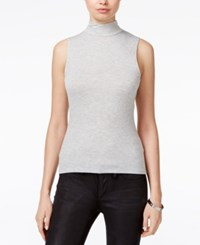Guess Bre Mock Neck Shell Heather Light Grey