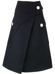 Marni Maxi Pocket Skirt Blue