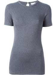 Brunello Cucinelli Fitted T Shirt Grey