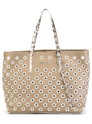 Jimmy Choo 'Sasha' Tote Nude And Neutrals