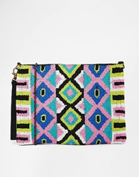 Pepe Jeans Pepe Beaded Clutch Bag Multi