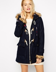 Bellfield Duffle Coat Navy
