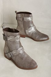 Anthropologie Lien. Do By Seychelles Sonora Booties Silver