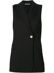 Protagonist Sleeveless Blazer Black