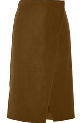 Jason Wu Wool Wrap Skirt Army Green