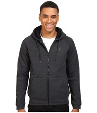 Hurley Mammoth Dwr Sherpa Lined Zip Black Heather Men's Clothing