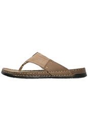 Pier One Flip Flops Brown Light Brown