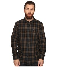 Hurley Unite Yarn Dyed Flannel Seaweed Men's Clothing Green