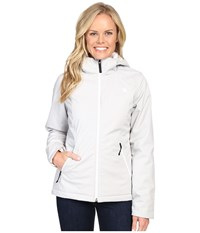The North Face Apex Elevation Jacket Lunar Ice Grey Heather Women's Jacket White